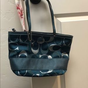 Coach Purse - Teal